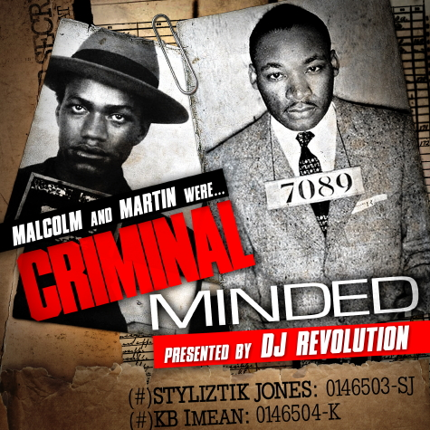DJ Revolution Presents Malcolm and Martin - 