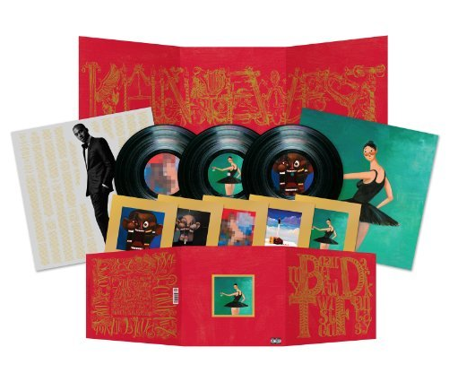 Kanye West's MBDTF Triple Vinyl Set Is Gorgeous
