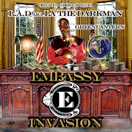 La The Darkman + DJ Green Lantern -