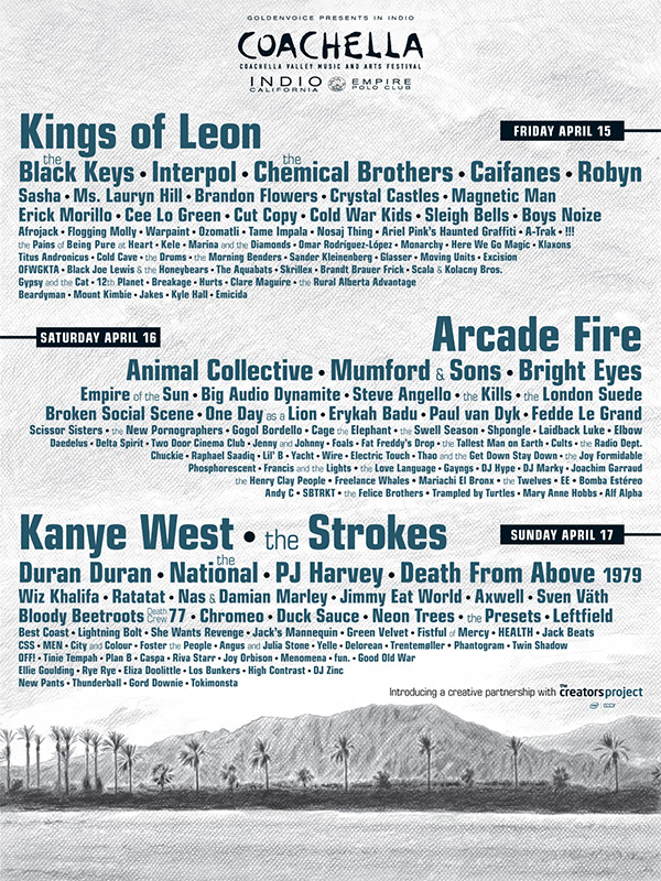 Kanye West Is Headlining Coachella