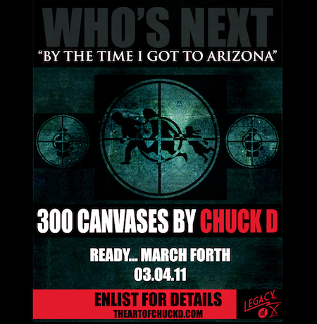Chuck D Planning Limited Edition