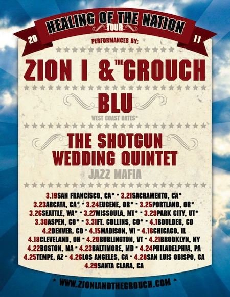 Zion I & The Grouch + Blu Announce Tour