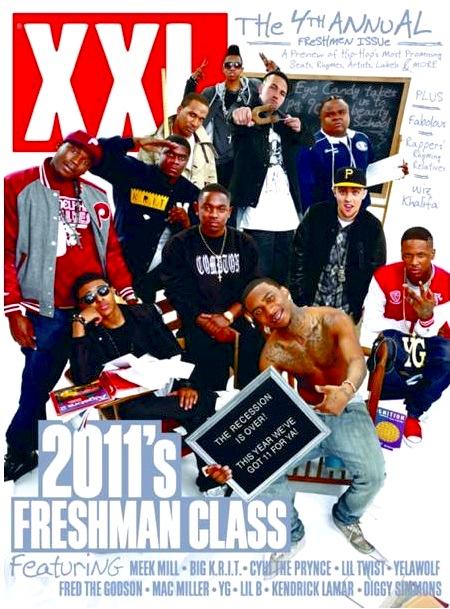 XXL Freshmen 2011 Cover Revealed