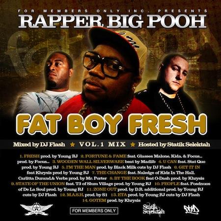 Rapper Big Pooh -