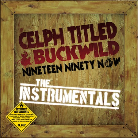 Celph Titled & Buckwild To Release Instrumental Vinyl, New EP