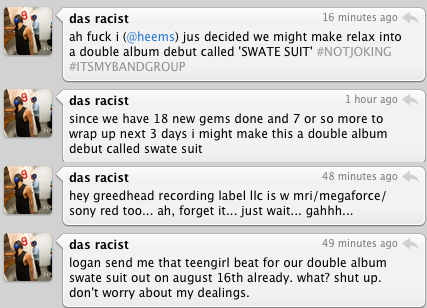 Das Racist To Release Double LP On August 16th?