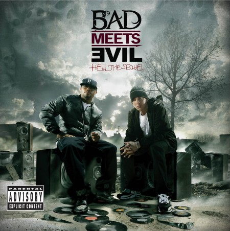 "Bad Meets Evil (Eminem + Royce Da 5'9) - ""Hell: The Sequel"" Cover Art"