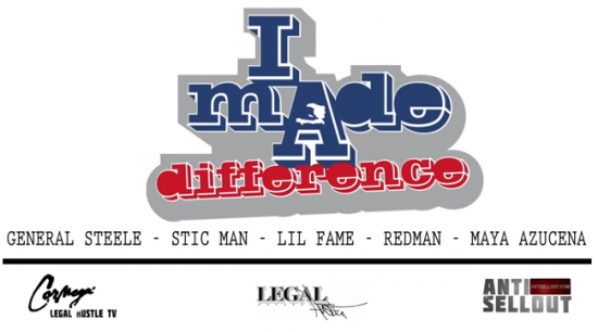 "Cormega - ""I Made A Difference"" (feat. General Steele, Redman, Lil Fame, Stic Man, Maya Azucena)"