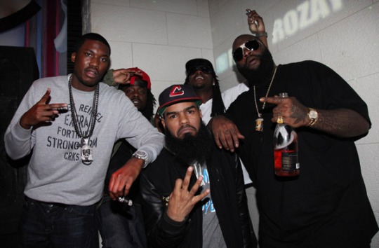 "Rick Ross, Meek Mill, Pill, Stalley - ""On Da Spot Freestyle"""