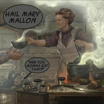 "Hail Mary Mallon - ""Garfield (Edison's Bent Back Remix)"""