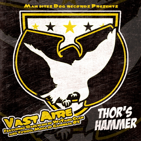 "Vast Aire - ""Thor's Hammer"" (feat. Raekwon + Vordul Mega)"