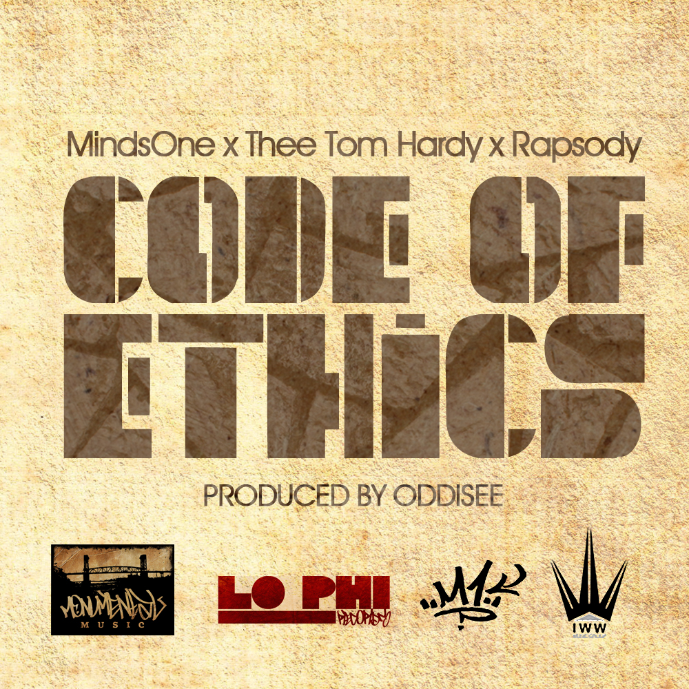MindsOne x Thee Tom Hardy x Rapsody - 'Code of Ethics' Prod. by Oddisee (MP3)