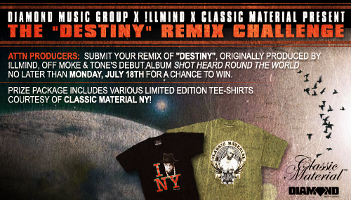 "DMG + !llmind Presents - The ""Destiny"" Remix Challenge"