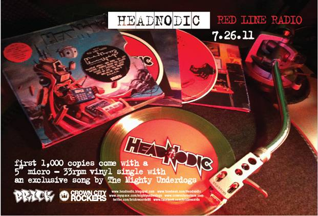 "Headnodic - ""Turn Your Radio Up"" (feat. Mr. Lif, Gift Of Gab, The Grouch)"