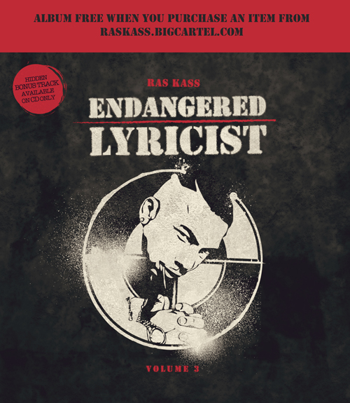 Ras Kass – Endangered Lyricist Vol. 3 (Mixtape)