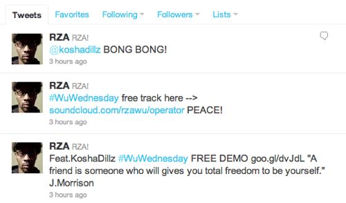 "RZA - ""Operator"" (feat. Kosha Dillz + Kool G. Rap)"