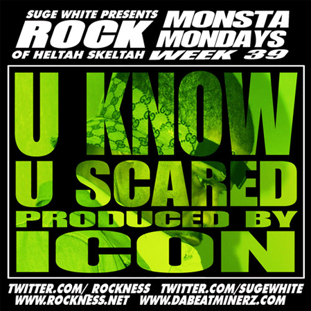 "Rock Of Heltah Skeltah - ""I Know U Scared"""