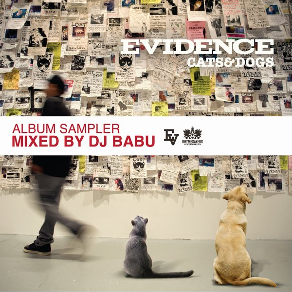 "Evidence - ""Cats & Dogs"" LP Sampler (Mixed by DJ Babu)"