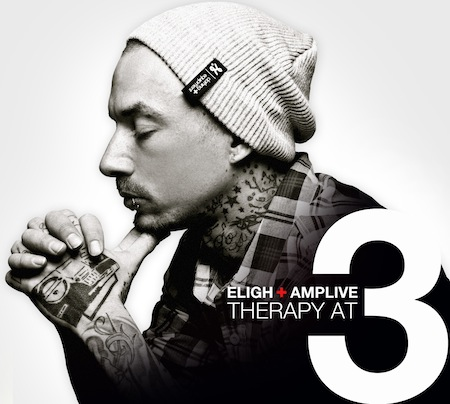 "Eligh + Amp Live - ""Therapy At 3"" Cover Artwork + Tracklist"