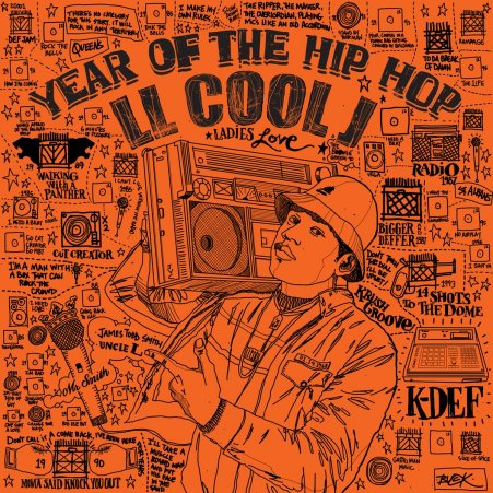 "LL Cool J - ""Year Of The Hip-Hop"""