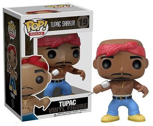 Pop! Rocks Tupac Shakur Action Figure
