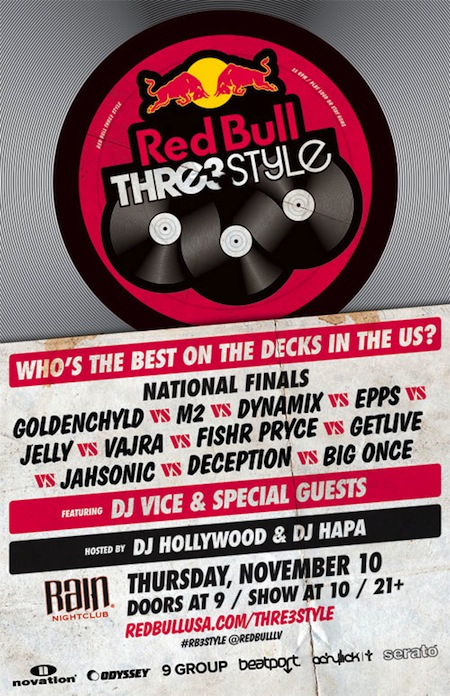 Win Tickets To Red Bull Thre3style In Vegas