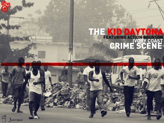 "The Kid Daytona - ""Ivory Coast Crime Scene"" (feat. Action Bronson)"
