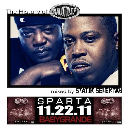 "Statik Selektah - ""History of M.O.P."" (Mixtape)"