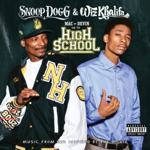 "Snoop Dogg + Wiz Khalifa - ""Mac & Devin Go To High School"" Cover Artwork"