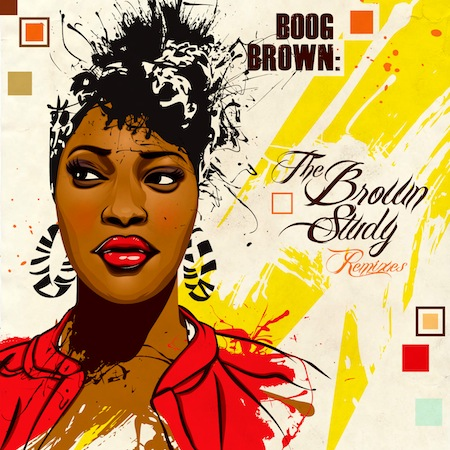 "Boog Brown - ""My Love (Georgia Anne Muldrow RMX)"""