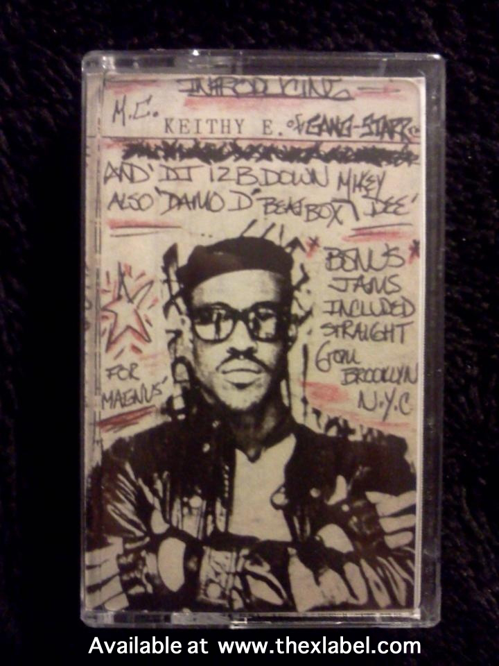 Limited Edition GURU (MC Keithy E) Demo Tape