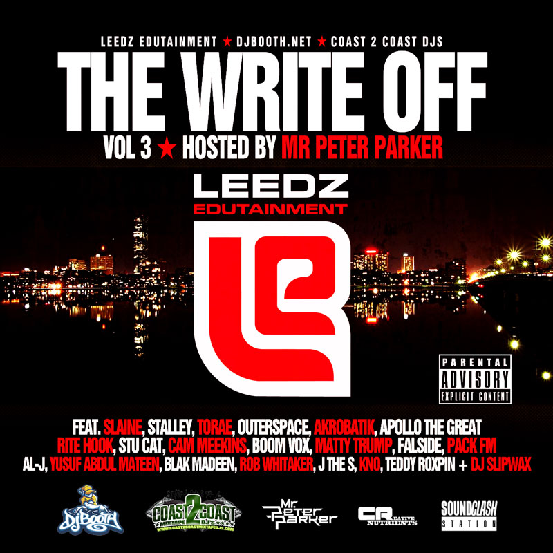 Leedz Ent. Presents &quot;The Write Off Vol. 3&quot;