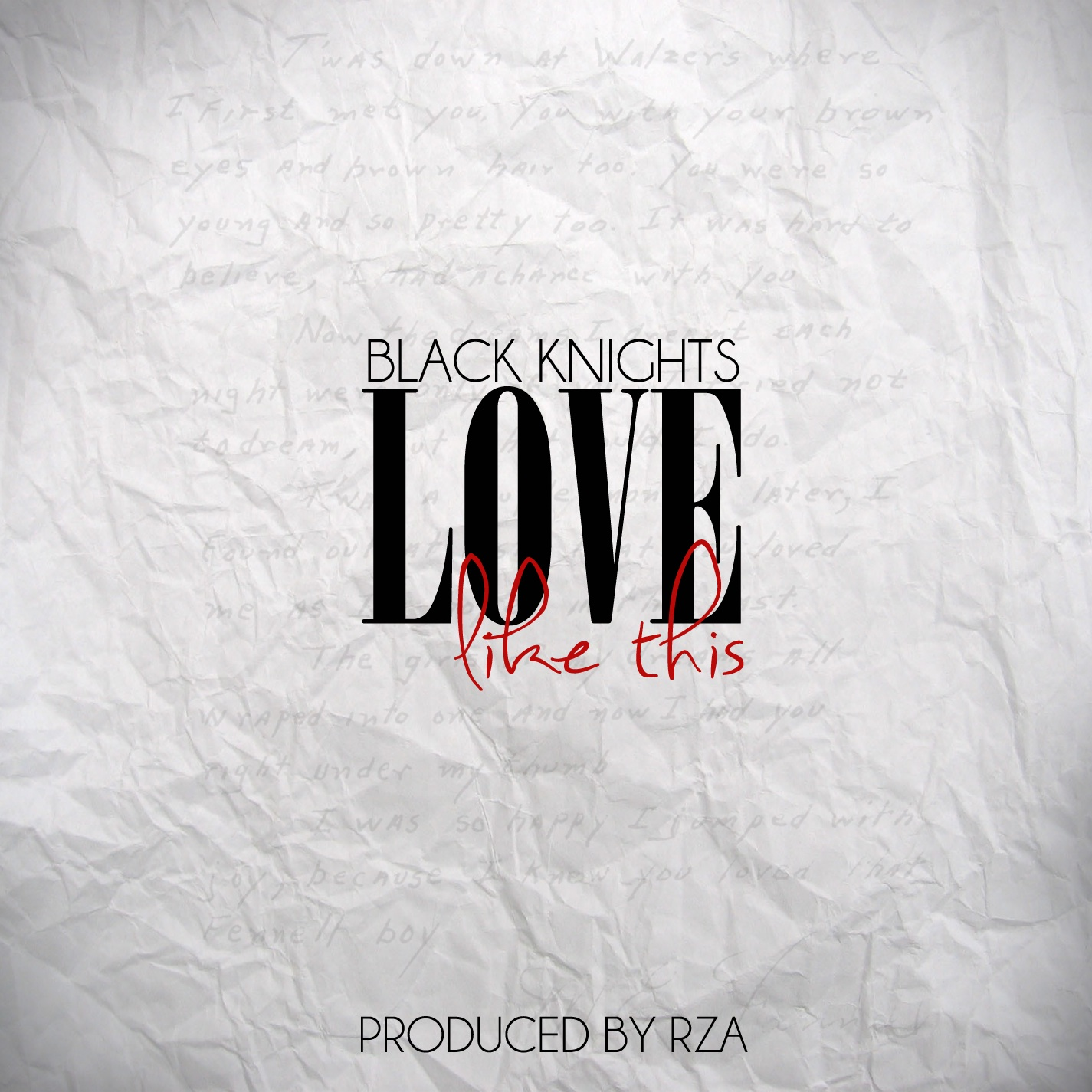 "Black Knights - ""Love Like This"" (prod. RZA)"