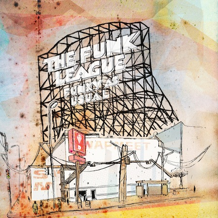 "The Funk League - ""Through Good & Bad (45 Remix)"" (feat. Large Professor)"