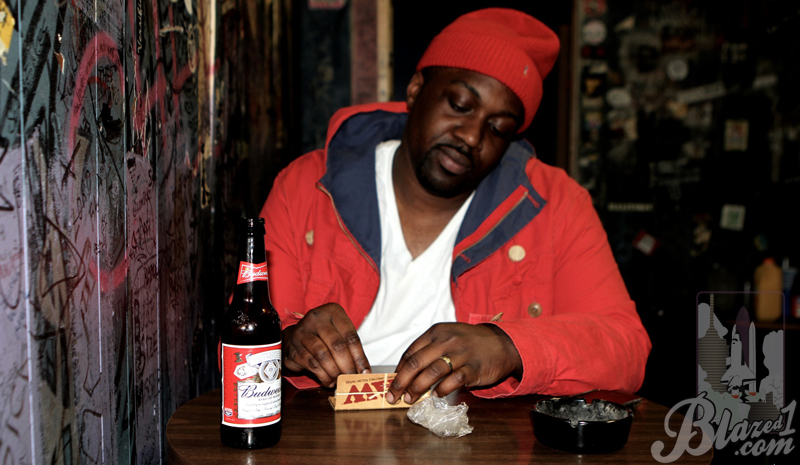 "Smoke DZA - ""Less Smoking, More Rapping"""