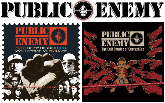 Public Enemy Release Cover Art For Next 2 Albums