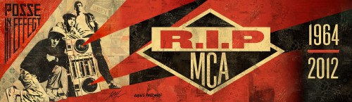 R.I.P. MCA + OBEY Billboard Up In L.A.